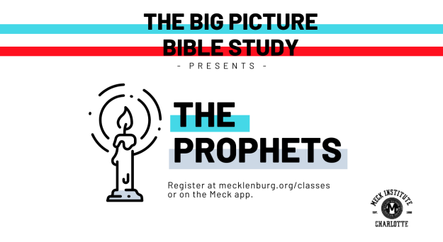 The Prophets: Big Picture Bible Study